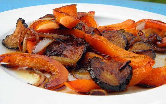 Warzywa z sosem balsamicznym