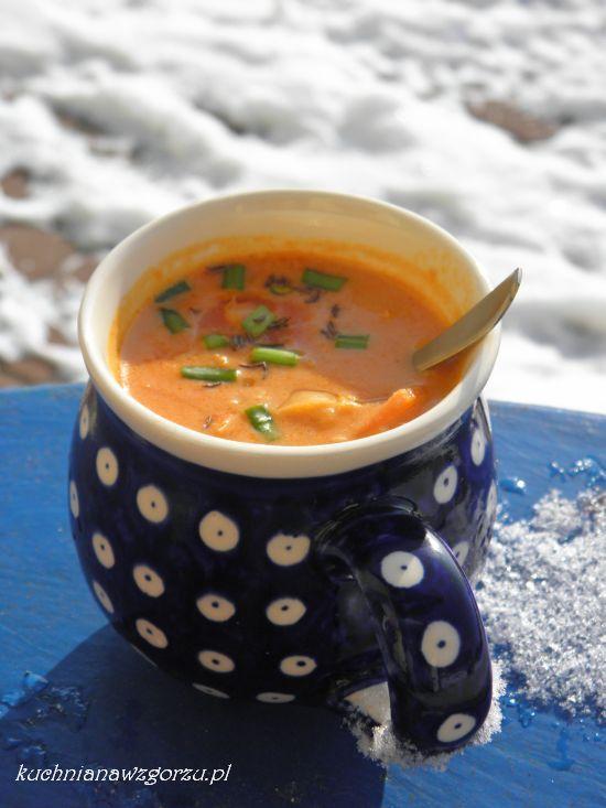 zupa soczewicowo kokosowa