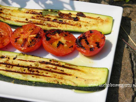 warzywa z grilla do obiadu