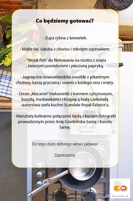 warsztaty dla blogerów program