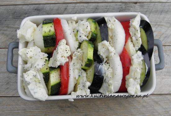 warzywa z gorgonzola