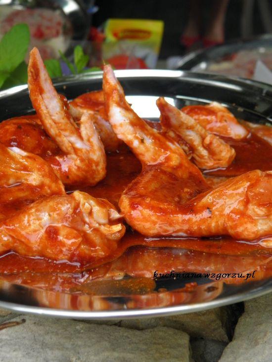 Skrzydełka z kurczaka grillowane
