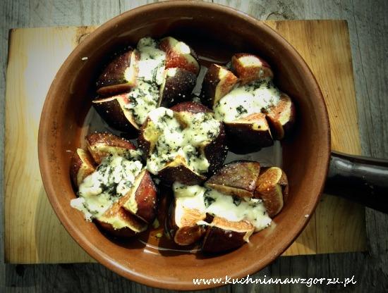 figi z gorgonzolą