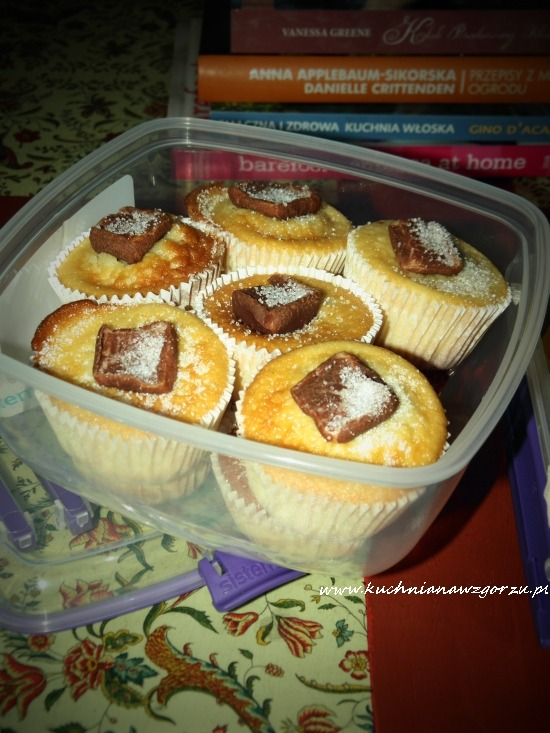 Cupcakes waniliowe