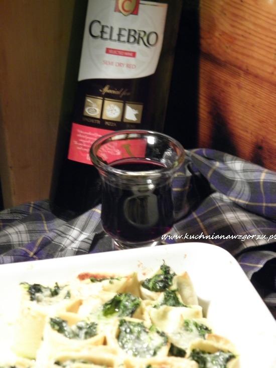 naleśniki i wino