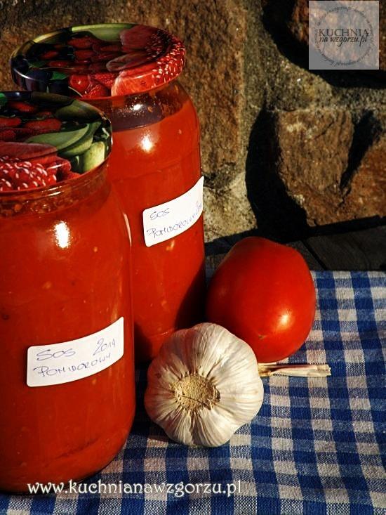 jak zrobic sos pomidorowy, przetwory