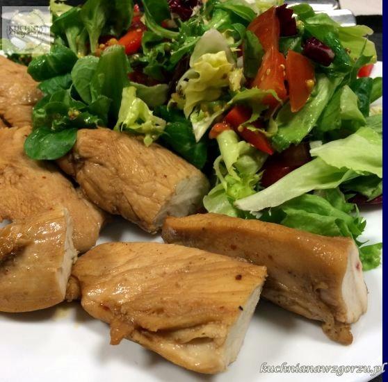 pierś z kurczaka na lunch