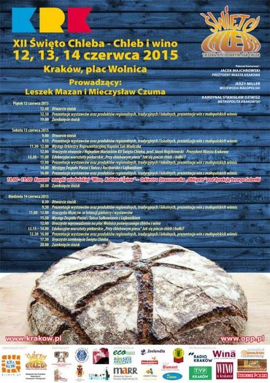 swieto chleba i wina 2015 kraków