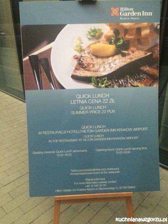 lunch lotnisko krakow