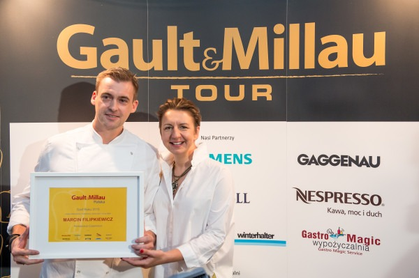 Nagroda Szef Roku- MARCIN FILIPKIEWICZ – RESTAURACJA COPERNICUS
