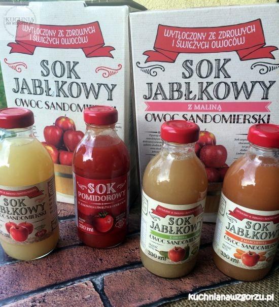 sok owoc sandomierski