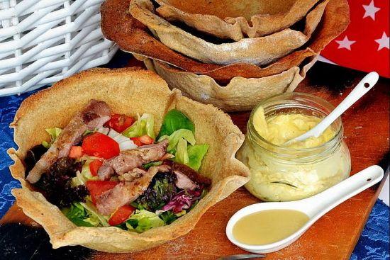 salata w tortilli