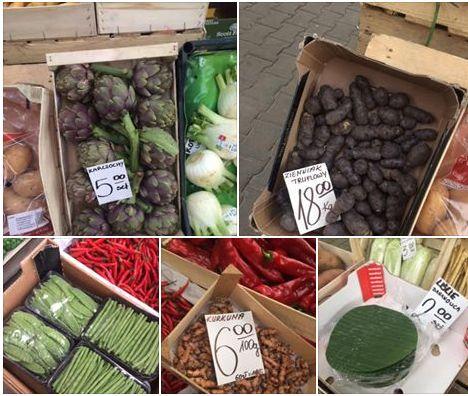 krakow warzywa