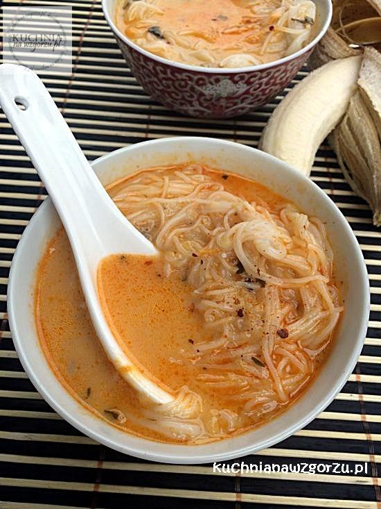 Zupa Bananowa Na Ostro Kuchnia Tajska Spróbuj