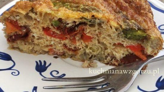 przepis na pieczony omlet
