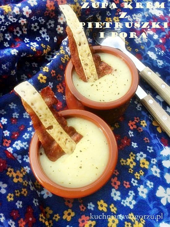 zupa krem z pietruszki i pora