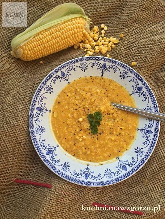 zupa krem z kukurydzy przepis