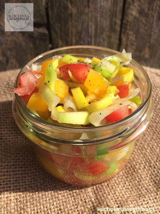 najprostsza salatka do obiadu