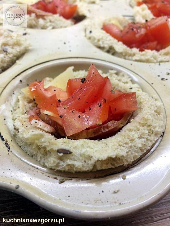 mini zapiekanki na śniadanie